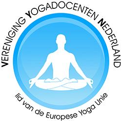Nancy Adams van Pristine Yoga en Pilates is lid van Vereniging Yogadocenten Nederland.